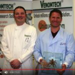 BAFTA-winning TV presenter naturalist, Steve Backshall, Venomtech