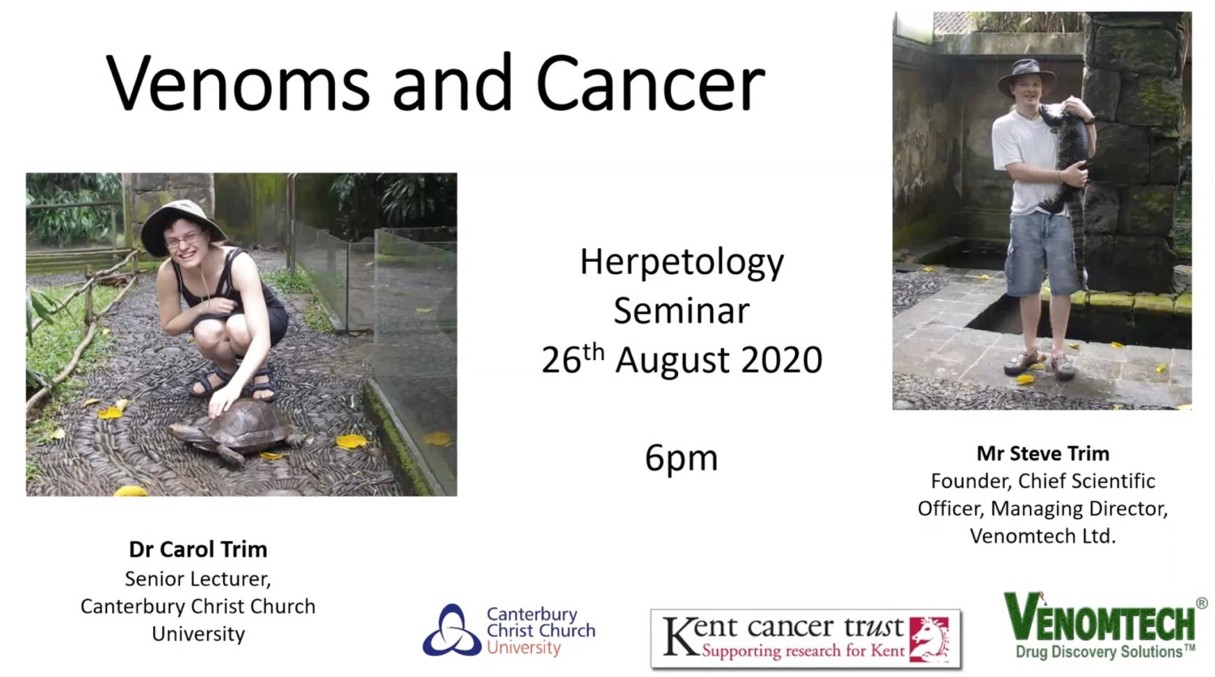 Herpetology seminar